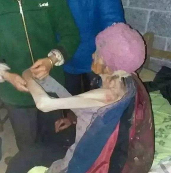 عروس ظالم مادرشوهرش را زندانی کرد +تصاویر