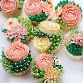 کاپ کیکهای دلبرانه برای جشن تولد