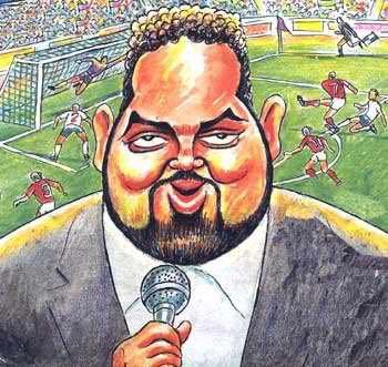عکس   68 جمله بیادماندنی جواد خیابانی در هنگام گزارش فوتبال!
