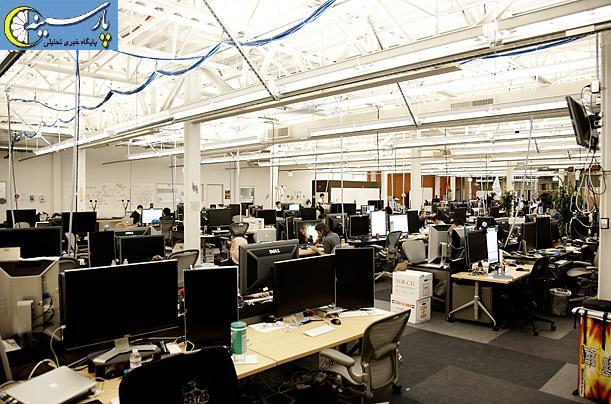 گزارش تصویری از ساختمان فیس بوک