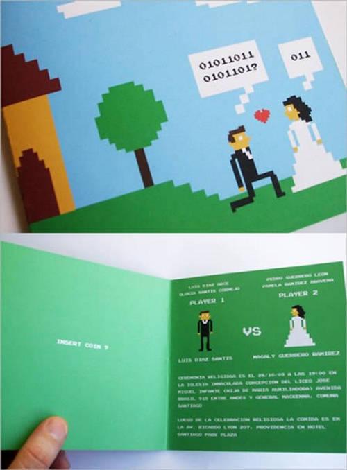 عکس:چند کارت دعوت برای عروسی
