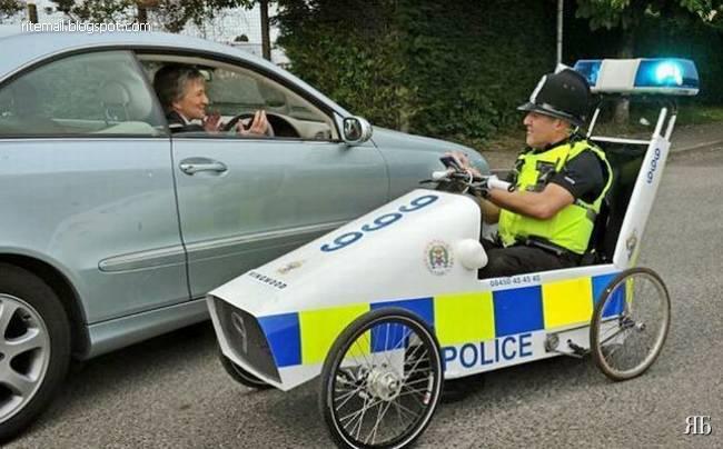 تصاویر دیدنی از ماشین پلیس های واقعا متفاوت
