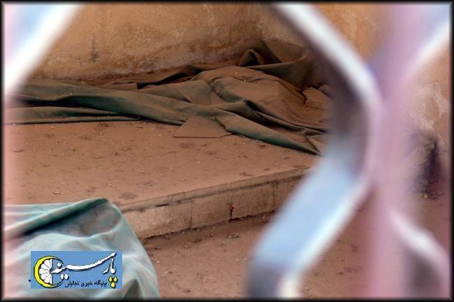 عکس/ قبر  معاویه و یزید ملعون در سوریه