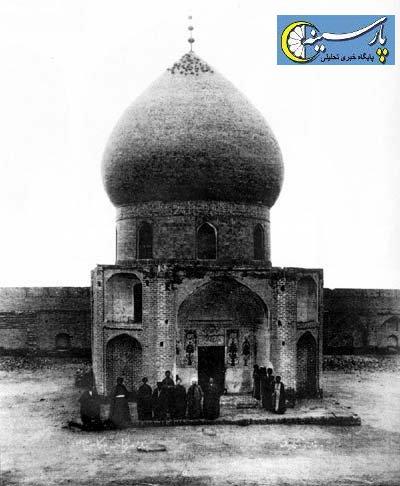 تصویری بسیار تاریخی از مقبره امام حسین(ع)