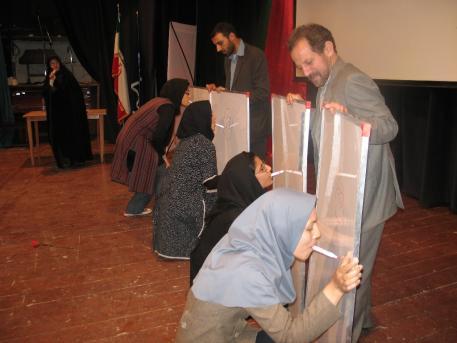 مرد ها عکس: جشن خوابگاه دختران در دانشگاه فردوسی مشهد