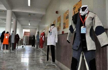 نمایشگاه « پوشش   اسلامی  بانوان ورزشكار» در تبریز برپا شد + عکس