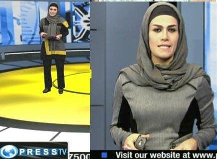 عکس پای مجریان زن ایرانی