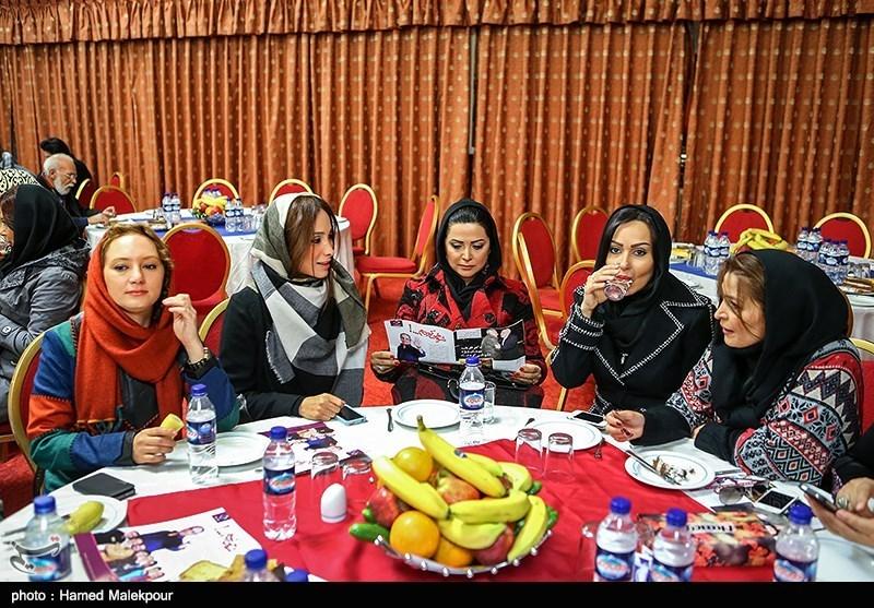 عکس/ این پنج خانم بازیگر در رونمایی از سریال جدید مهران مدیری !