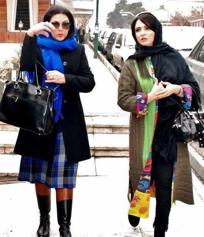 عکس/تیپ زمستانی خانم بازیگر