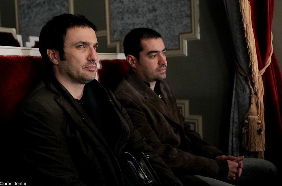 عکس/ محمدرضا فروتن و شهاب حسینی در دیدار با روحانی