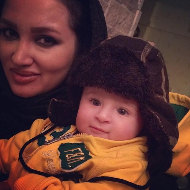 عکس/ روناک یونسی و دخترش