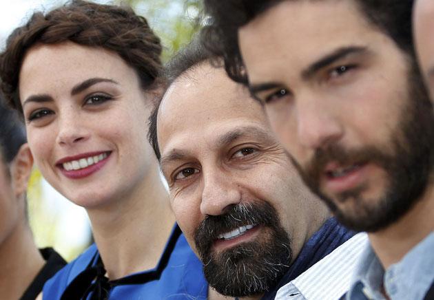 اصغر فرهادی در کن فرانسه+عکس