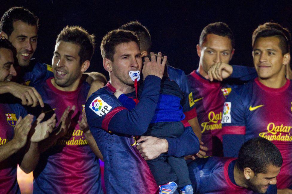 عکسهای بارسلونا مسی