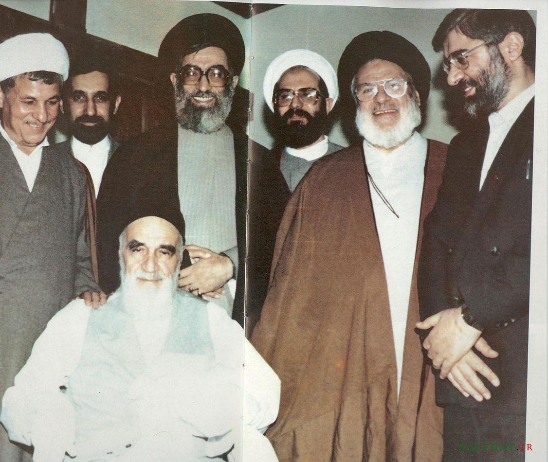 جلسه مسئولان نظام با حضور امام خمینی/ 1367