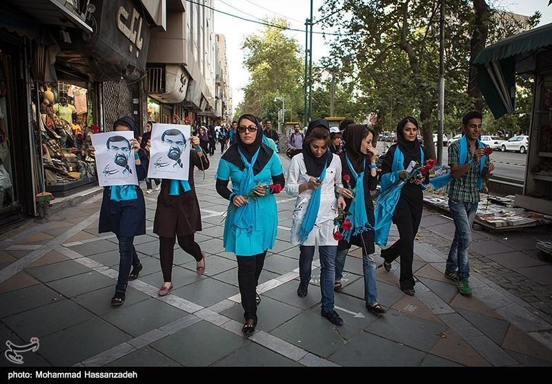 عکس تهران خیابان فرشته