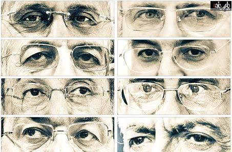 عکس «چشمهای» نامزدهای انتخابات ریاست جمهوری یازدهم!