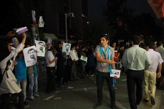 54818 682 - ديشب در خيابانهاي تهران چه گذشت؟ + تصاوير