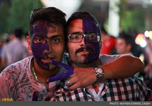 هواداران حسن روحانی