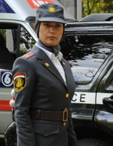 عکس: لعیا زنگنه در لباس نظامی