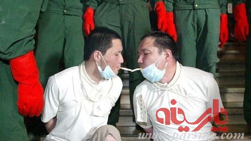 عکس: آخرین تقاضا قبل از اعدام!