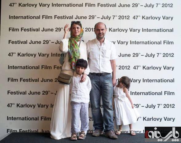 عکس از خانواده از لیلا حاتمی