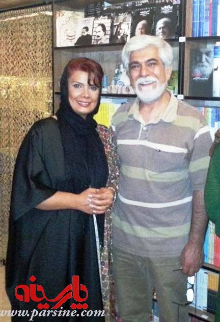 عکس : حسین   پاکدل  و همسرش عاطفه رضوی