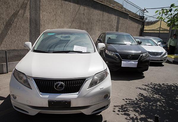 خودروهای لوکس سلطان کوکائین ایرانی