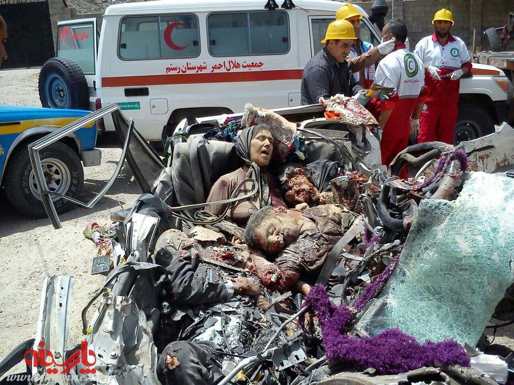 تصادف دیروز اصفهان عکس تصادف در شیراز - گالری عکس