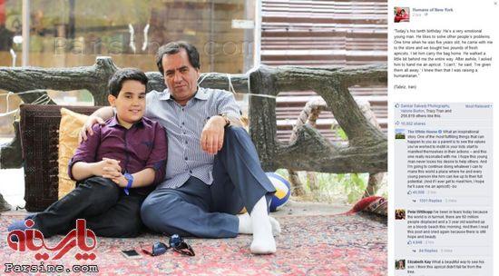 136892 356 کامنت باراک اوباما برای پسربچه ایرانی