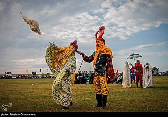 عکس : شبیه خوانی  روز   عاشورا  در روستای الهدامه خوزستان