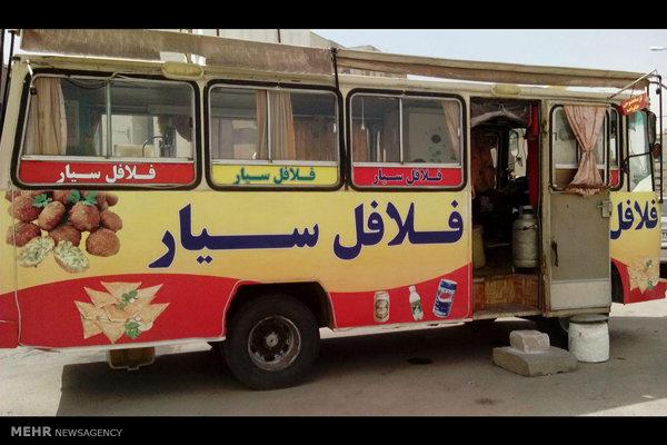 تصادف دیروز اصفهان عکس: فلافلی سیار - مطالب خواندنی و تصاویر دیدنی روز