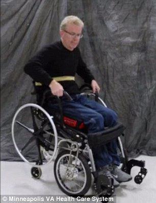 آمپول زدن در حالت ایستاده انقلابی در طراحی ویلچرها