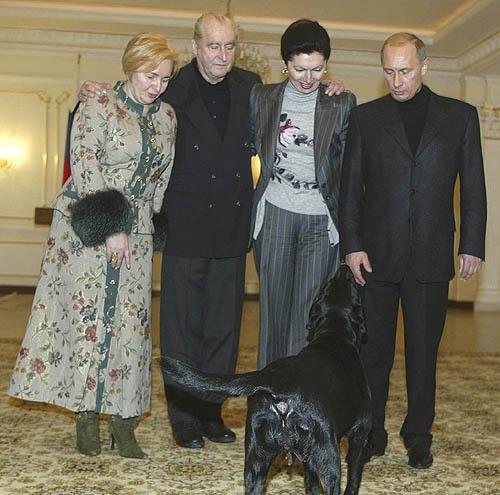 بهترین محافظ پوتین +تصاویر