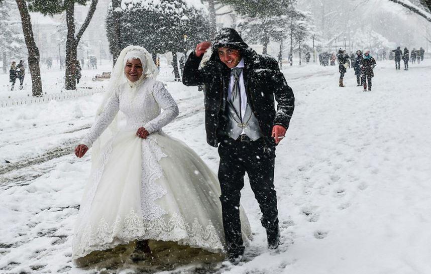 آغاز زندگی،با یک نخ سیگار و هوای برفی استانبول