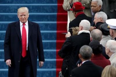 آغاز «عصر جدید» با ادای سوگند دونالد ترامپ