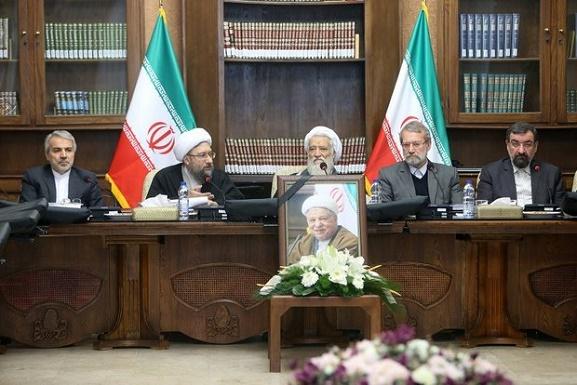 اولین جلسه مجمع تشخیص پس از درگذشت آیتالله هاشمی +عکس