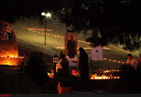 آرامگاه عباس کیارستمی تکمیل شد