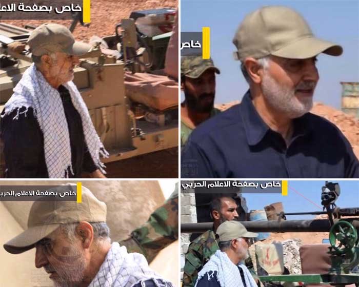 سردار سلیمانی به حلب رفت