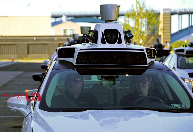 حرکت تاکسی های خودران در آمریکا