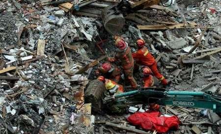 کشته شدن ۲۰ نفر بر اثر ریزش چند ساختمان در چین