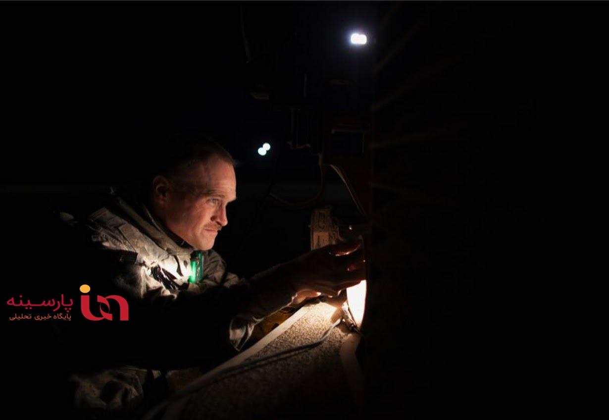 نیروهای آمریکایی در شب حمله به موصل+عکس