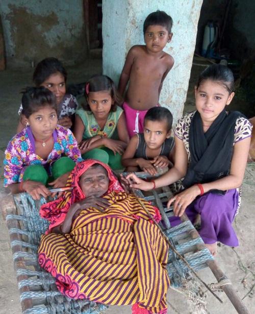تغییر بدنی عجیب زن هندی بعد از تولد فرزند سومش+تصاویر