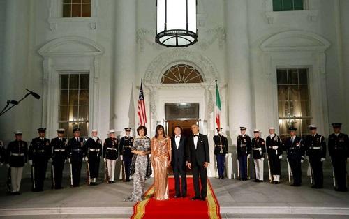 شام آخر «اوباما» در کاخ سفید+عکس