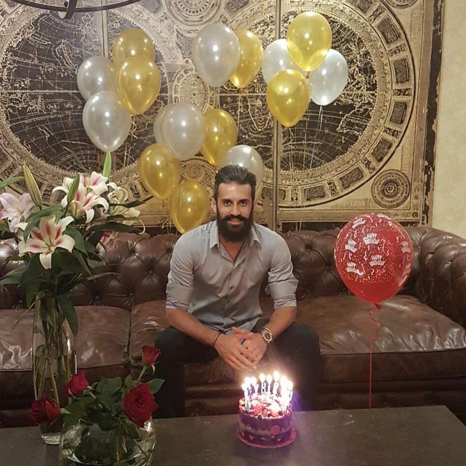 جشن تولد سعید معروف