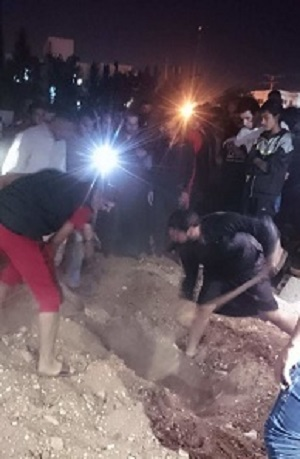 نبش قبر یک زن پس از شنیدن صداهایی از درون آن+عکس