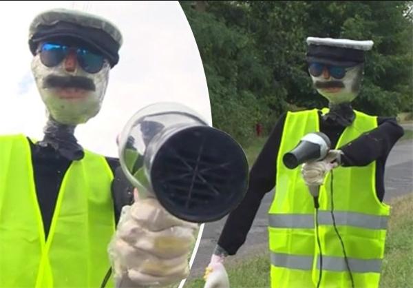 مترسک پلیس برای کاهش تصادفات!