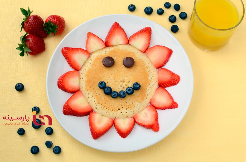 ایده های تزیین غذای کودک