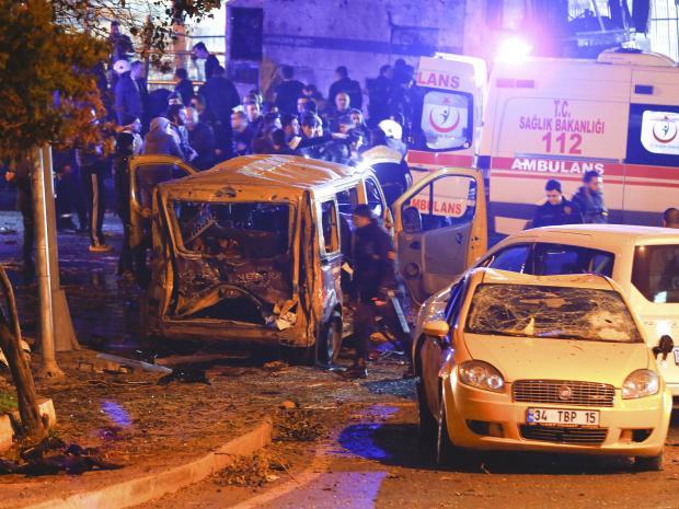 انفجار مرگبار استانبول ترکیه / حداقل ۴۰ کشته و زخمی