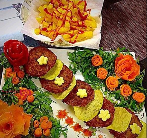 طرز تهیه یک شامی کباب خوشمزه و عالی