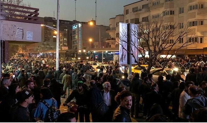 نا آرامی های تهران